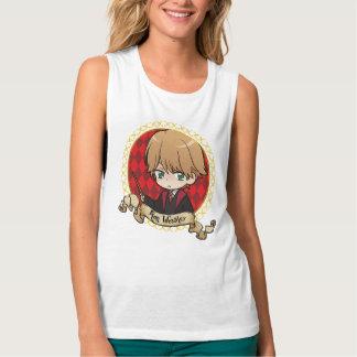 Anime Ron Weasley Portrait Singlet