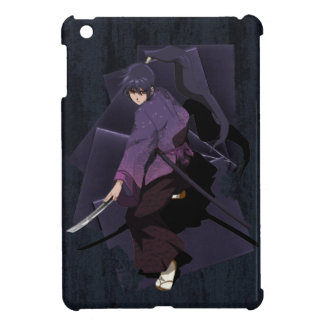 Anime Samurai - Violet Ebony iPad Mini Cover