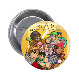 Anime Tennis Characters 6 Cm Round Badge
