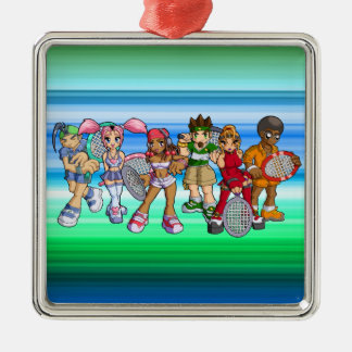 Anime Tennis Characters Ornaments