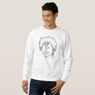 Anime Ze Zir pronoun sweatshirt