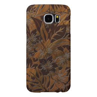 Anini Beach Faux Wood Hawaiian Samsung Galaxy S6 Cases