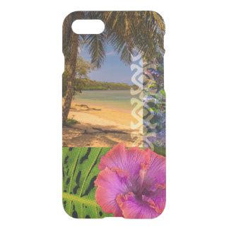 Anini Beach, Kauai Hawaiian Collage iPhone 7 Case