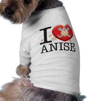 Anise Love Man Dog Tee Shirt