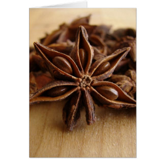 Anise Star Card