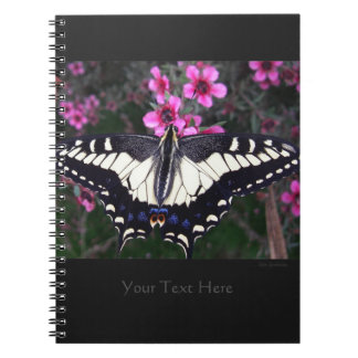 Anise Swallowtail Spiral Notebook 2