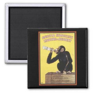 Anisetta Evangelisti Vintage Liquor Ad Magnet