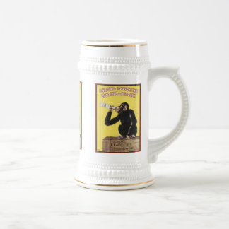 Anisetta Evangelisti Vintage Liquor Ad Mugs, Stein Beer Steins