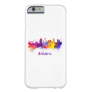 Ankara skyline in watercolor barely there iPhone 6 case