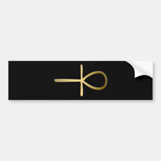 Ankh cross Egyptian symbol Bumper Sticker