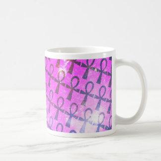 Ankh Pattern Coffee Mug