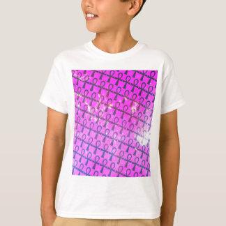 Ankh Pattern T-Shirt