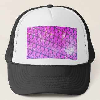 Ankh Pattern Trucker Hat