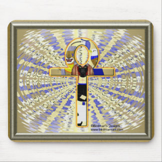 Ankh withGods Mouse pad