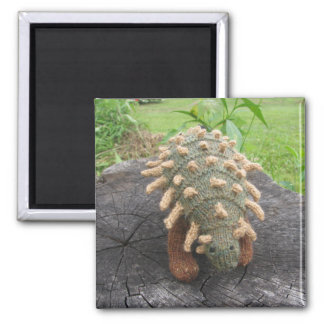 Anklyosaurus fridge magnet