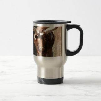 Ankole-Watusi Steer Travel Mug