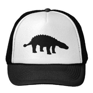 Ankylosaurus Dino Dinosaur Silhouette Cap