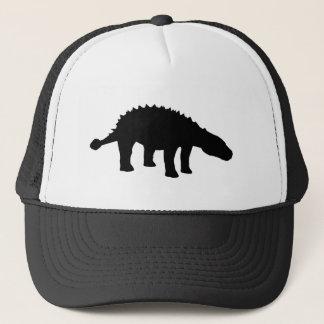 Ankylosaurus Dino Dinosaur Silhouette Trucker Hat