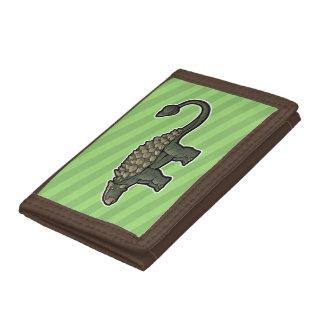 Ankylosaurus Trifold Wallet
