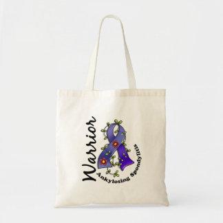 Ankylosing Spondylitis Warrior 15 Budget Tote Bag