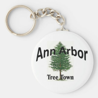 Ann Arbor Key Ring