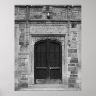 Ann Arbor Michigan Doors Poster
