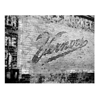 Ann Arbor Michigan Vernor's Brick Wall Vintage Postcard