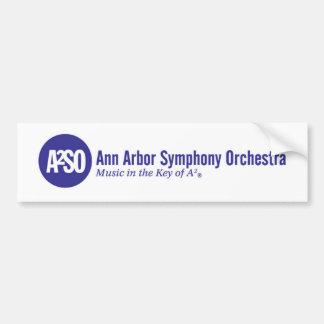Ann Arbor Symphony Orchestra Bumper Sticker