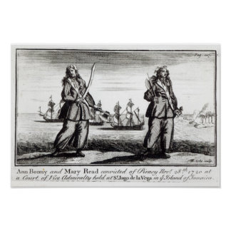 Ann Bonny and Mary Poster