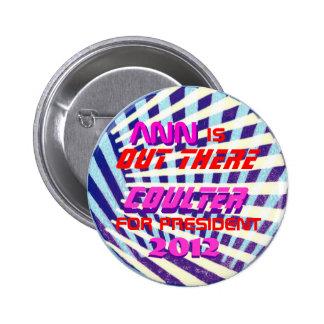 Ann Coulter 2012 burtton 6 Cm Round Badge