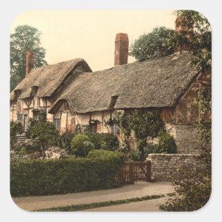 Ann Hathaway's Cottage, Stratford-on-Avon, England Square Sticker