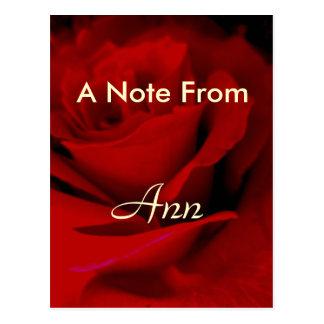 Ann Postcard