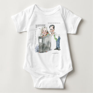 Ann Romney In A Binder Funny Gifts Tees & Cards