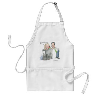 Ann Romney In A Binder Funny Gifts Tees & Cards Standard Apron