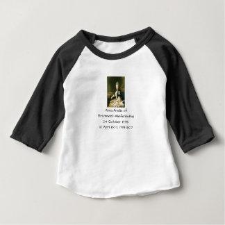 Anna Amalia of Brunswick-Wolfenbuttel 1739-1807 Baby T-Shirt