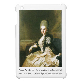 Anna Amalia of Brunswick-Wolfenbuttel 1739-1807 iPad Mini Case