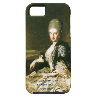 Anna Amalia of Brunswick-Wolfenbuttel 1739-1807 iPhone 5 Cover