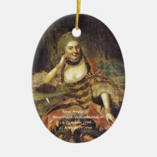Anna Amalia of Brunswick-Wolfenbuttel 1739 Ceramic Ornament