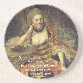 Anna Amalia of Brunswick-Wolfenbuttel 1739 Coaster