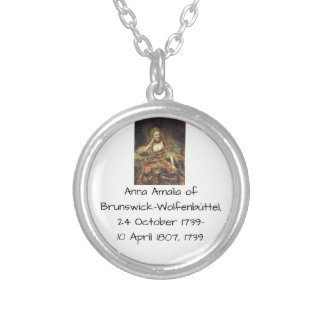 Anna Amalia of Brunswick-Wolfenbuttel 1739 Silver Plated Necklace