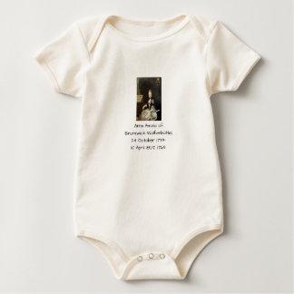 Anna Amalia of Brunswick-Wolfenbuttel 1769 Baby Bodysuit