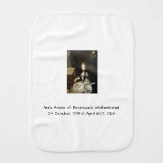 Anna Amalia of Brunswick-Wolfenbuttel 1769 Burp Cloth