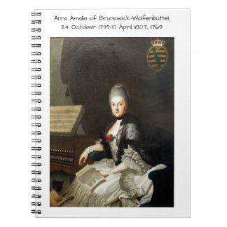 Anna Amalia of Brunswick-Wolfenbuttel 1769 Notebook