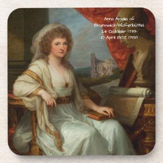 Anna Amalia of Brunswick-Wolfenbuttel 1788 Coaster