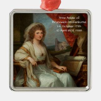 Anna Amalia of Brunswick-Wolfenbuttel 1788 Metal Ornament