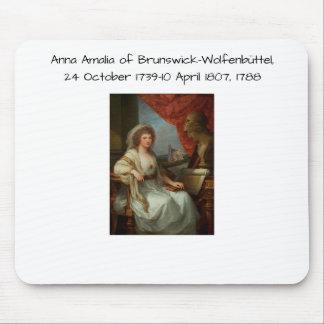 Anna Amalia of Brunswick-Wolfenbuttel 1788 Mouse Pad