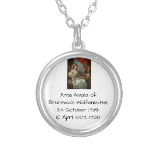 Anna Amalia of Brunswick-Wolfenbuttel 1788 Silver Plated Necklace