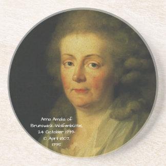 Anna Amalia of Brunswick-Wolfenbuttel 1795 Coaster