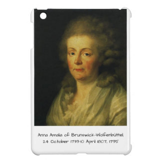 Anna Amalia of Brunswick-Wolfenbuttel 1795 iPad Mini Covers