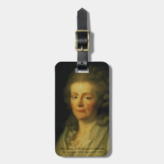 Anna Amalia of Brunswick-Wolfenbuttel 1795 Luggage Tag